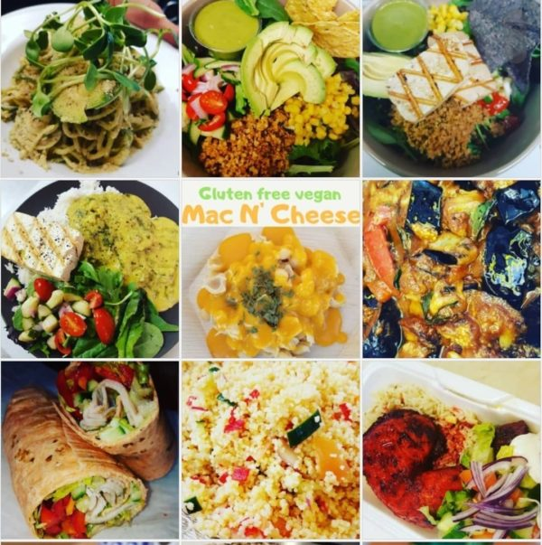 vegan event catering and cooking image