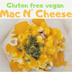 Gluten-Free vegan mac n cheese